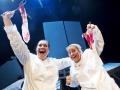 kuva: esa melametsä 22.7.2009 KokkolaKokkola Operan Döbeln. Kuvassa Annika Mylläri ja Anu Komsi