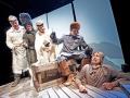 kuva: esa melametsä 22.7.2009 KokkolaKokkola Operan Döbeln. Kuvassa  Robert McLoud, Annika Mylläri, Anu Komsi, Lasse Penttinen ja Sören Lillkung.